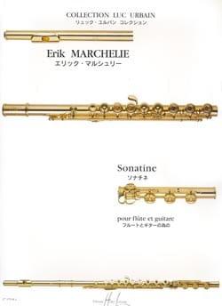 Sonatine - Flûte guitare Erik Marchelie Partition Duos - laflutedepan
