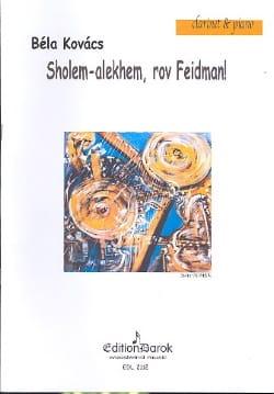 Sholem Alekhem, Rov Feidman! - Bela Kovacs - laflutedepan.com