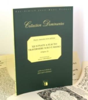 12 Sonate op. 2 a flauto traversiere solo e basso - laflutedepan.com