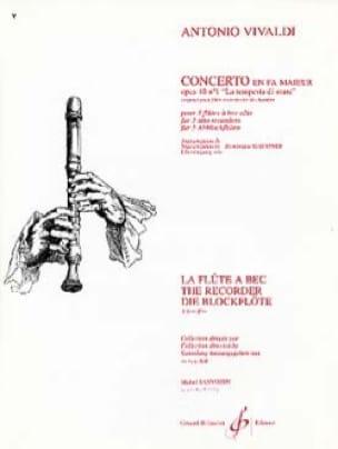 Concerto en fa majeur op. 10 n° 1 La tempête en mer - laflutedepan.com
