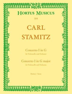 Concerto n° 1 sol majeur pour violoncelle - Conducteur laflutedepan