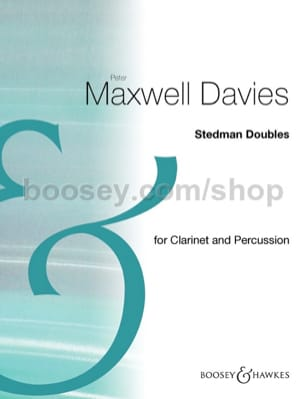 Stedman Doubles - Davies Peter Maxwell - Partition - laflutedepan.com