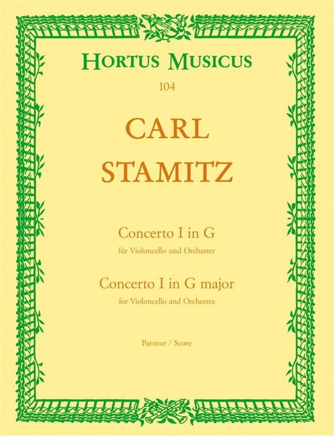 Concerto n° 1 sol majeur pour violoncelle - Conducteur - laflutedepan.com