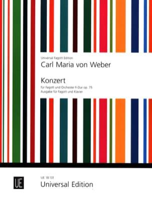 Konzert F-Dur, op. 75 -Fagott Klavier laflutedepan