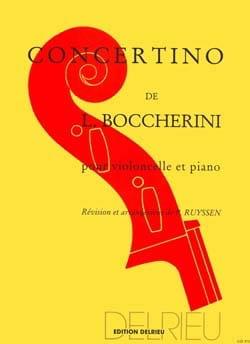 BOCCHERINI - Concertino - Partition - di-arezzo.co.uk