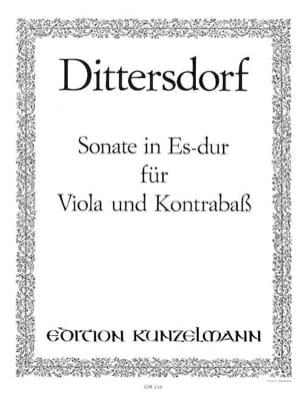 Sonate Es-Dur für Viola und Kontrabass laflutedepan