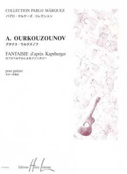 Fantaisie d'aprés Kapsberger - Atanas Ourkouzounov - laflutedepan.com