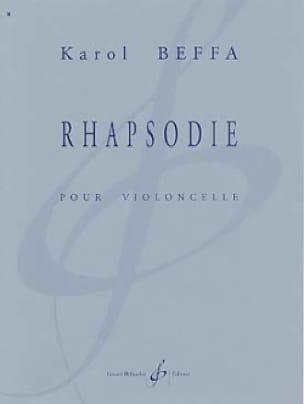 Rhapsodie - Karol Beffa - Partition - Violoncelle - laflutedepan.com