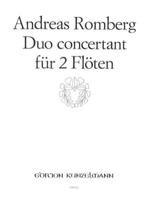Duo Concertant op. 62 n° 2 - 2 Flöten Andreas Romberg laflutedepan