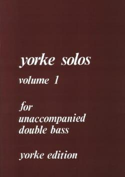 Yorke Solos Volume 1 Partition Contrebasse - laflutedepan