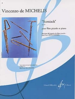 Scottisch op. 39 Vincenzo de Michelis Partition laflutedepan