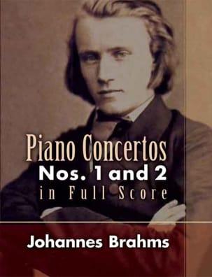 Piano Concertos N°1 et 2 - Full Score BRAHMS Partition laflutedepan