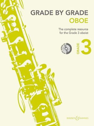 Grade by Grade Oboe - Volume 3 Partition Hautbois - laflutedepan