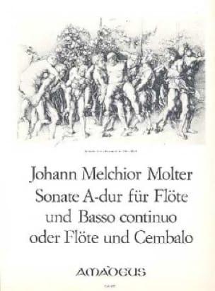 Sonate A-Dur - Flöte und Bc o. Cembalo - laflutedepan.com