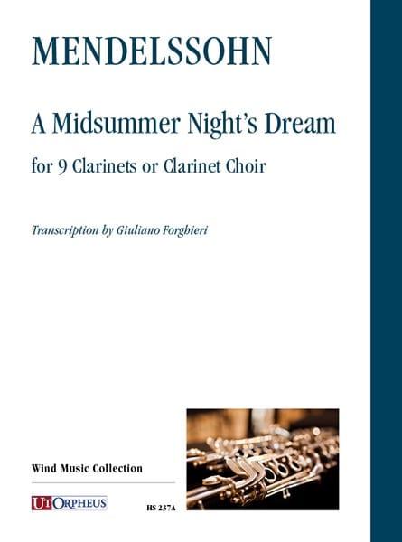 Le songe d'une nuit d'été - MENDELSSOHN - Partition - laflutedepan.com