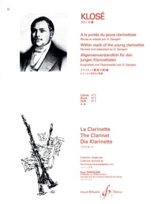 A la Portée du jeune Clarinettiste Vol. 1 Hyacinthe Klosé laflutedepan