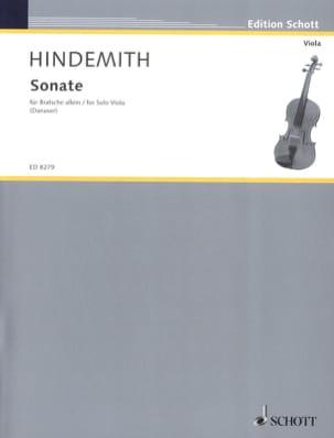 Sonate für Bratsche allein 1937 HINDEMITH Partition laflutedepan
