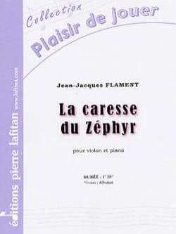La Caresse du Zéphyr Jean-Jacques Flament Partition laflutedepan