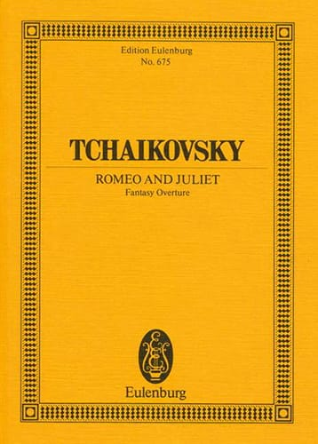 Fantasie-Ouverture Romeo et Juliette - TCHAIKOVSKY - laflutedepan.com