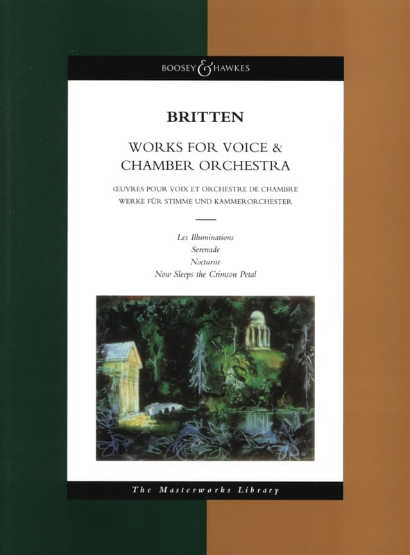 Works for voice & chamber orchestra - BRITTEN - laflutedepan.com