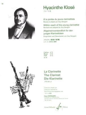 A la Portée du jeune Clarinettiste Vol. 2 Hyacinthe Klosé laflutedepan