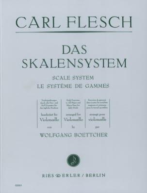 Le Système de Gammes - Violoncelle Carl Flesch Partition laflutedepan