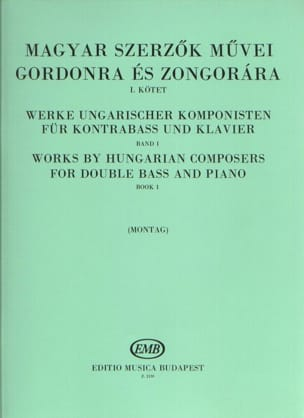 Works by hungarian composers - Volume 1 Lajos Montag laflutedepan