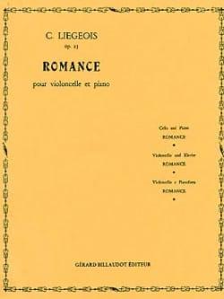 Romance op. 25 n° 1 Cornélis Liegeois Partition laflutedepan