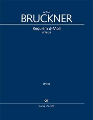 Requiem en ré mineur BRUCKNER Partition Grand format - laflutedepan