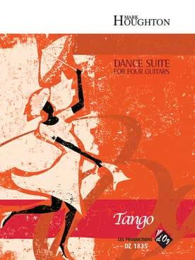 Dance Suite - Tango Mark Houghton Partition Guitare - laflutedepan
