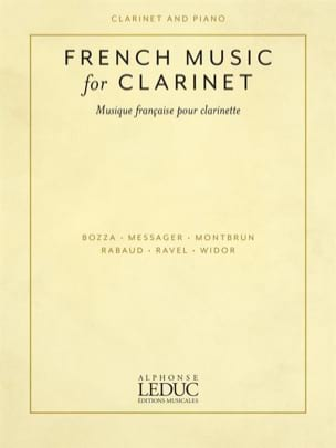 French Music for Clarinet compositeurs Divers Partition laflutedepan