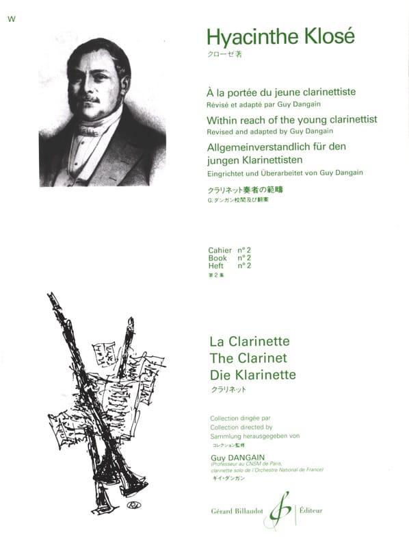 A la Portée du jeune Clarinettiste Vol. 2 - laflutedepan.com