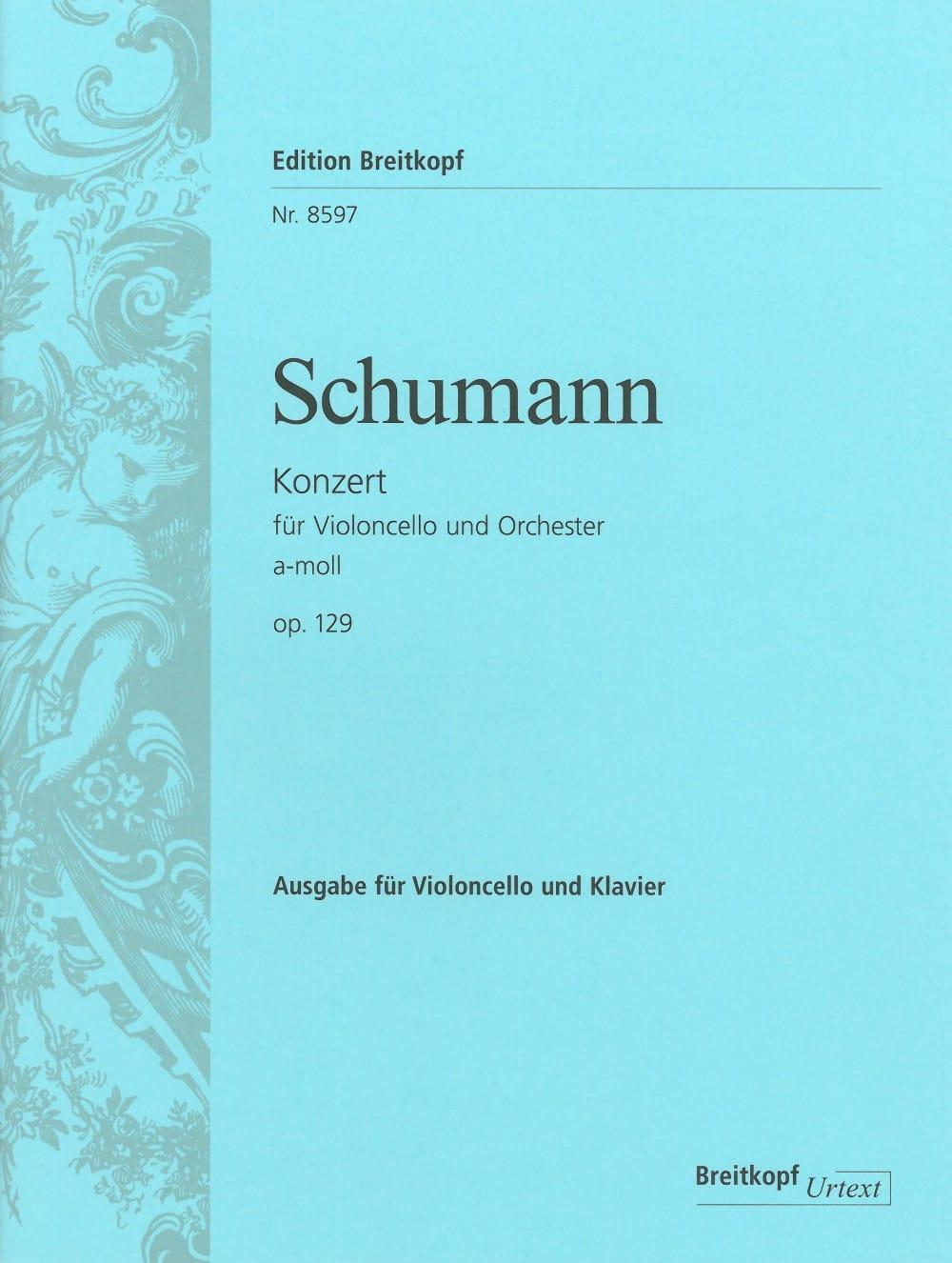 Concerto Violoncelle en la mineur op. 129 - laflutedepan.com