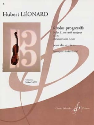 Solo E en mi bémol majeur op. 62 - Hubert Léonard - laflutedepan.com