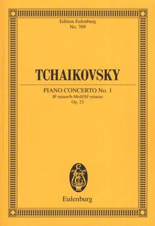 Klavier-Konzert Nr. 1 B-Moll TCHAIKOVSKY Partition laflutedepan