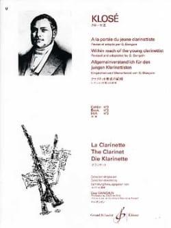 A la Portée du jeune Clarinettiste Vol. 3 Hyacinthe Klosé laflutedepan