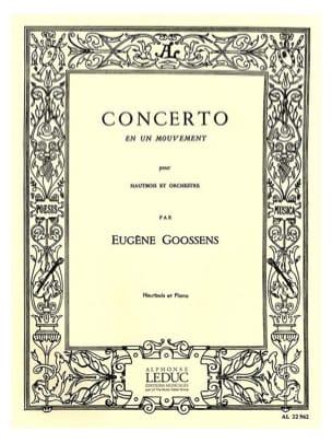 Concerto en un mouvement Eugène Goossens Partition laflutedepan