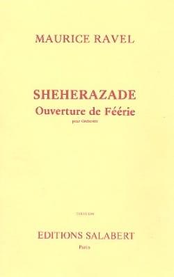 Shéhérazade, Ouverture de féerie - Conducteur RAVEL laflutedepan