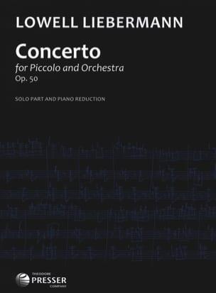 Concerto Op. 50 - Piccolo piano Lowell Liebermann laflutedepan