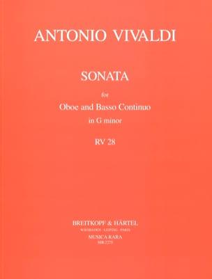 Sonate in g minor RV 28 - hautbois et Basse continue laflutedepan