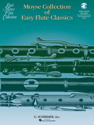 Moyse Collection of Easy Flute Classics Partition laflutedepan