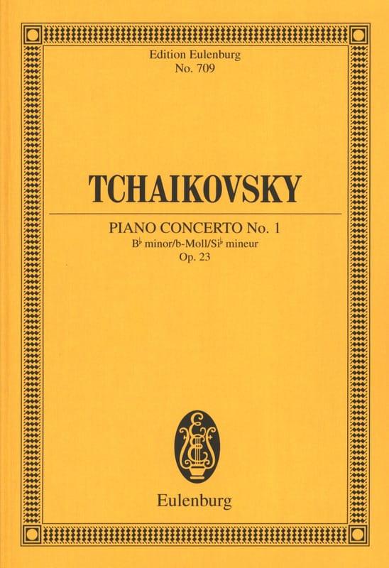 Klavier-Konzert Nr. 1 B-Moll - TCHAIKOVSKY - laflutedepan.com