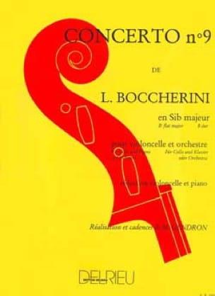 Concerto n° 9 Violoncelle, si bémol majeur G. 482 - laflutedepan.com