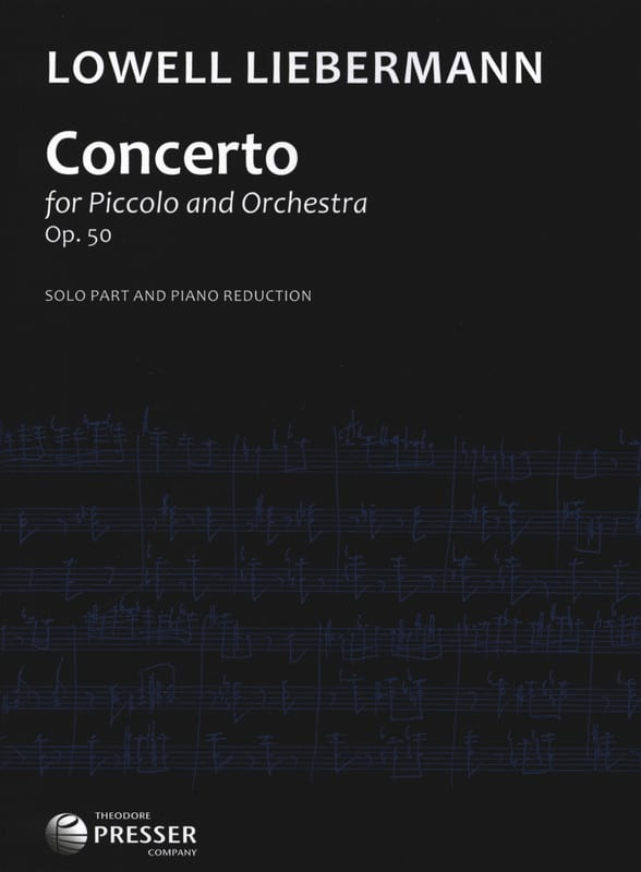 Concerto Op. 50 - Piccolo piano - Lowell Liebermann - laflutedepan.com