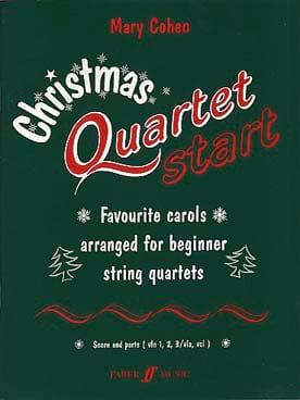 Christmas quartet start - Mary Cohen - Partition - laflutedepan.com