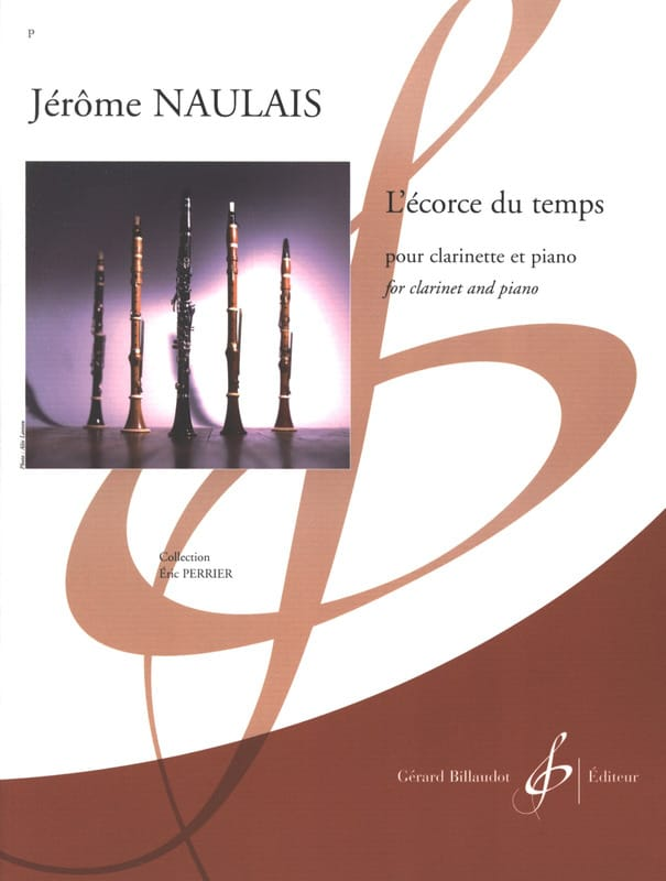 L'écorce du Temps - Jérôme Naulais - Partition - laflutedepan.com