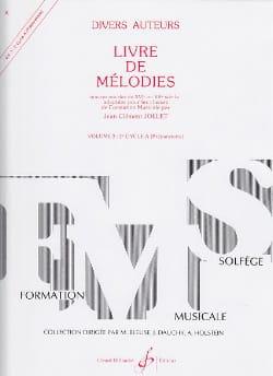 Livre de Mélodies Volume 3 - Préparatoire laflutedepan