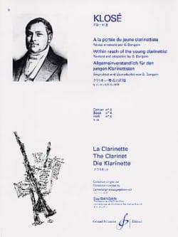A la Portée du jeune Clarinettiste Vol. 4 Hyacinthe Klosé laflutedepan