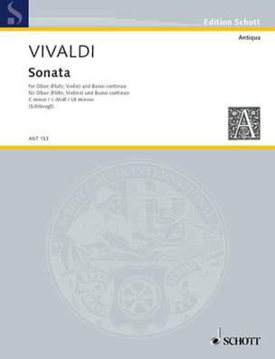 Sonate c-moll RV 53 -Oboe Flöte, Violine und Bc VIVALDI laflutedepan