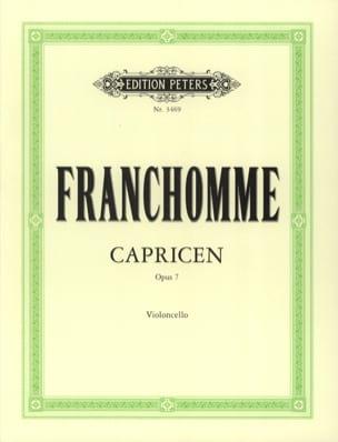 12 Caprices Opus 7 Auguste Franchomme Partition laflutedepan
